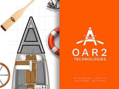 OAR 2 technologies oar logo design