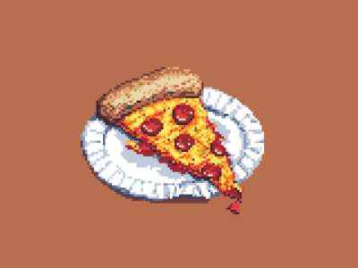 Pixel Pizza Slice