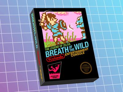 NES Breath of the Wild Box