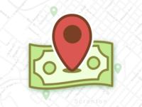 Money Wayfinder Icon
