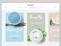 Cosmetics Store Landing Page