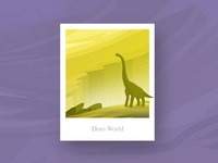 Dino World Illustration
