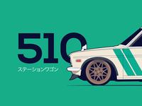 Datsun 510 Wagon Mint