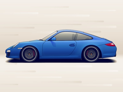 Porsche 911 wheels vehicle tuning rims racing porsche illustration car automotive auto