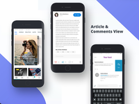 Article & Comments View