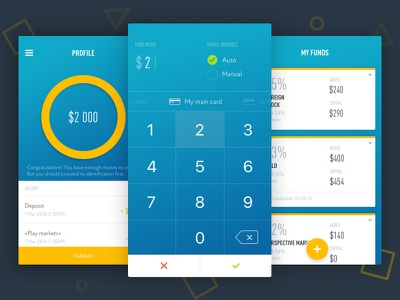 App design interface mobile ios app ux ui