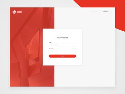 Authorization login page login authenticate auth dashboard design ui interface web