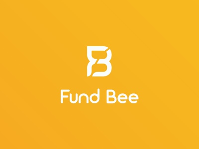 Fund Bee loans factoring momogram logo