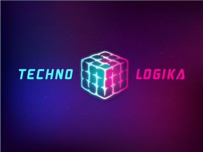 Technologika cube rubik retro 80s brain logic techno