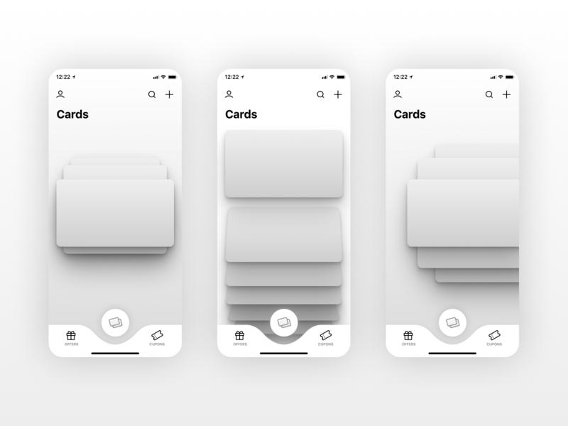 KARDZ | Cards stack wireframes figma cards wireframe