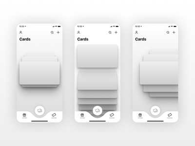 KARDZ | Cards stack wireframes figma cards wireframe