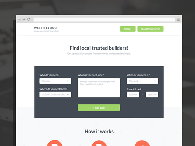 Tradesman marketplace