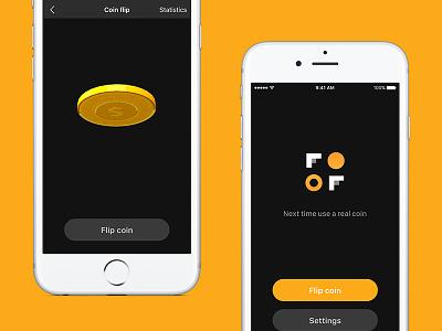 Fair Flip iOS App applestore coin indiedev coin flip watch iphone swift ios