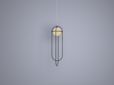 Orbit Light Lamp (4/10) practice render lamp 3d blender