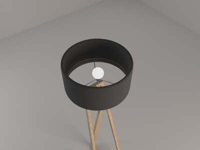 ZED Floor Lamp - top angle (5/10)