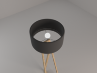 ZED Floor Lamp - top angle (5/10)