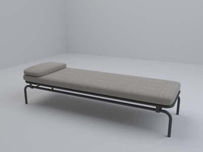 Bed by Copenhagen's COMMON (6/10) model render bed 3d