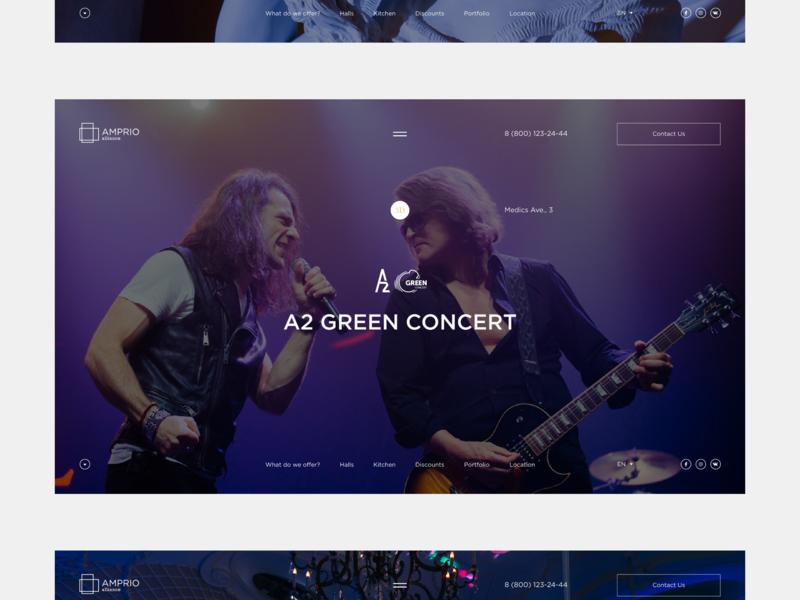 Amprio Alliance webdesign desktop motion fullscreen web website mobile ux minimal ui