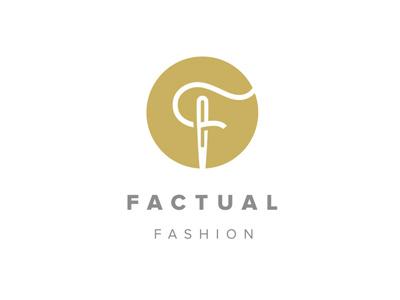 Fashion Logo fashion logo needle thread sew luxury designer design illustration vector branding detroit