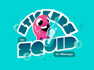 Stickers iMessage Project ui ux development xcode imessage stickers freelance squid ocean website