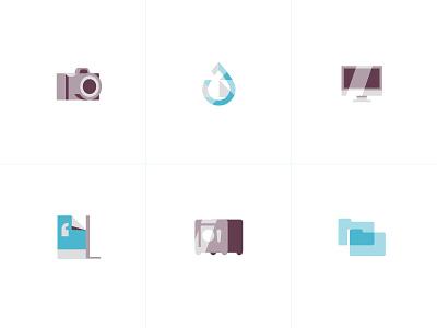 Personal Effects ui ux freelance detroit iconography illustration icon
