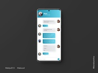 Daily UI #013 - Direct Messaging (Rebound)