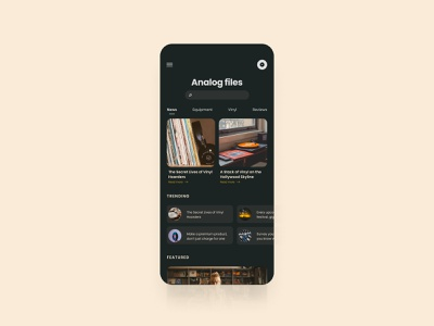 Analog files blog ux ui figma webflow layout mobile layout mobile design files analog mobile mobile ui dailyui ui design ui designer ui ux elvas graphic designer aveiro freelancer
