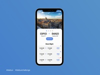 Daily UI #068 - Flight Search