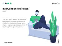 Itervention exercises