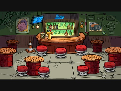 Bar illustration bar