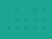 Inevening Category Icons
