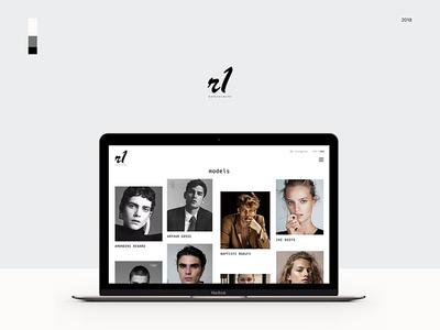 R1 Management website design
