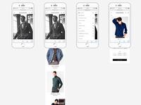 Mobile design for VKNagrani new website