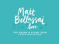 Matt Bellassai tour branding