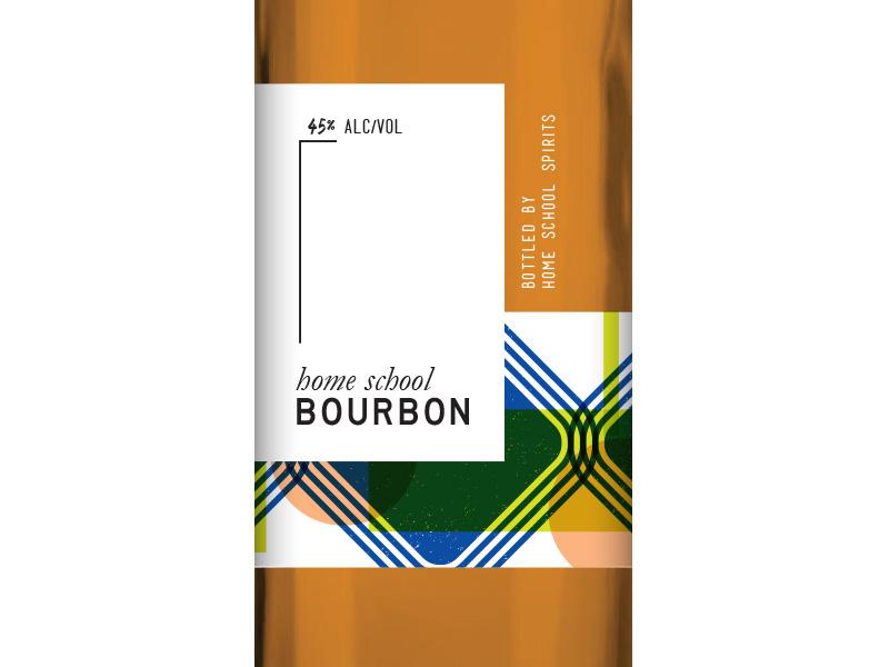 Bourbon Label alcohol whiskey bourbon packaging label liquor