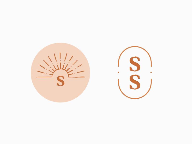 Brand Artifacts s monogram hand drawn logomarks icons artifacts branding
