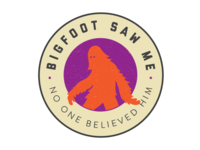 Bigfoot Badge