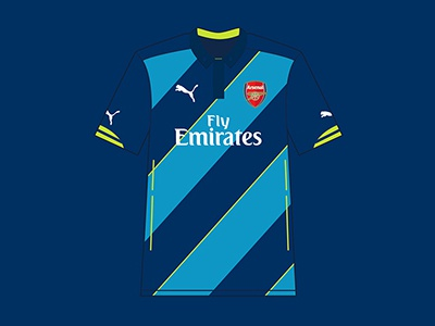 Arsenal 2014/15 Cup Kit afc gooners gunners arsenal