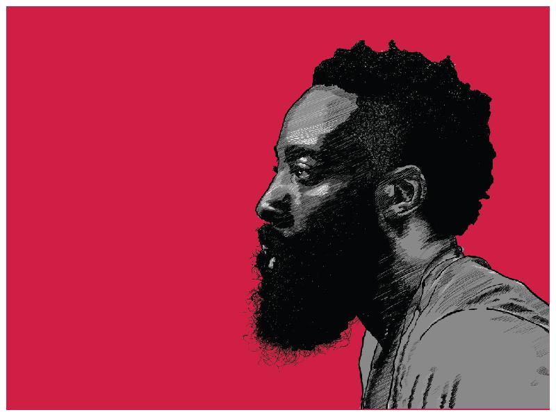 The Beard basketball harden nba houston rockets beard jamesharden