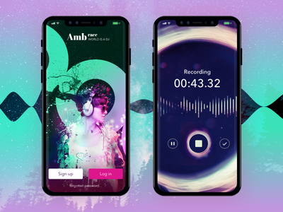 Ambrace Music App