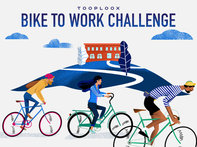 Bike To Work Challenge Poster