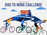 Bike To Work Challenge Poster