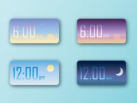 Day 1: Clock Widgets