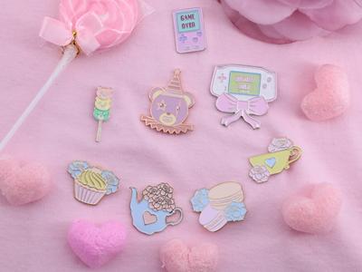 Sweet Bitz Enamel Pins