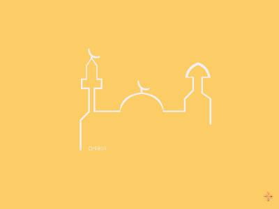 Dhaka flat color icon