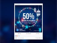 GMHC Ramadan Promotion Post