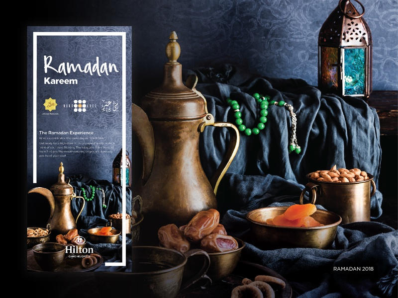Hilton - Ramadan Campaign guidlines advertising luxury design graphic art ci luxury hotel hilton rollup pattern arabian ramadan campaign