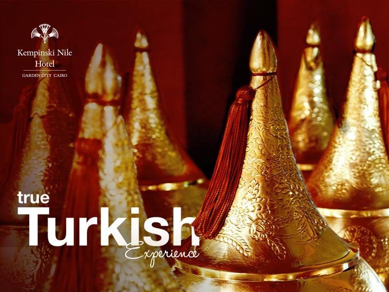 Kempinski Social Media advertising concept typography copper style turkish post graphic design digital