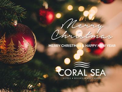 Christmas Greeting Coral Sea