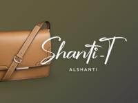 Shanti-T logo design